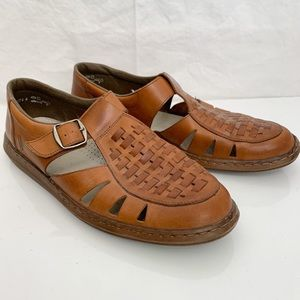 Rieker / Leather Fisherman Sandals - Size 46 (13)